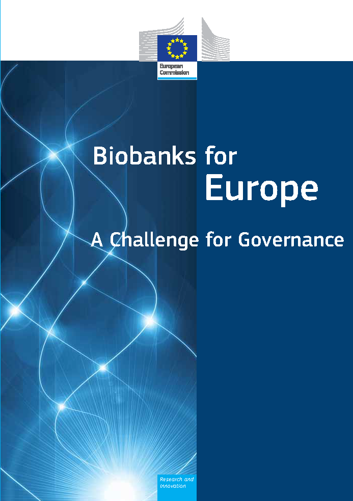 Biobanks for Europe - Recommendations